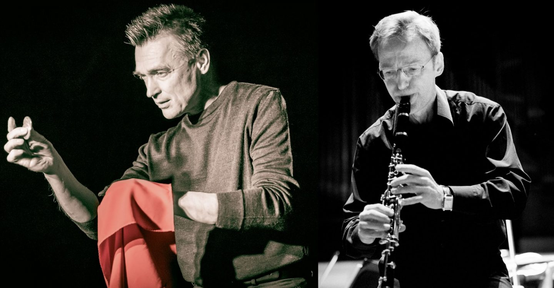 Kuakollaasi: taikuri Robert Jägerhorn ja klarinetisti Kari Kriikku