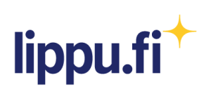Sininen Lippu.fi-logo, jonka kulmassa keltainen tähti